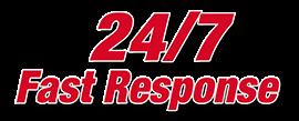 24/7 fast response