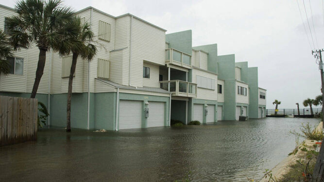 Flooded Condos