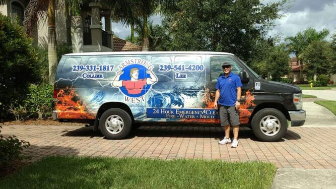 Armstrong Water Mold Cleanup Truck
