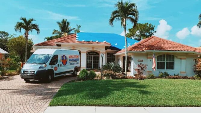Roof Tarping in Fort Myers Florida
