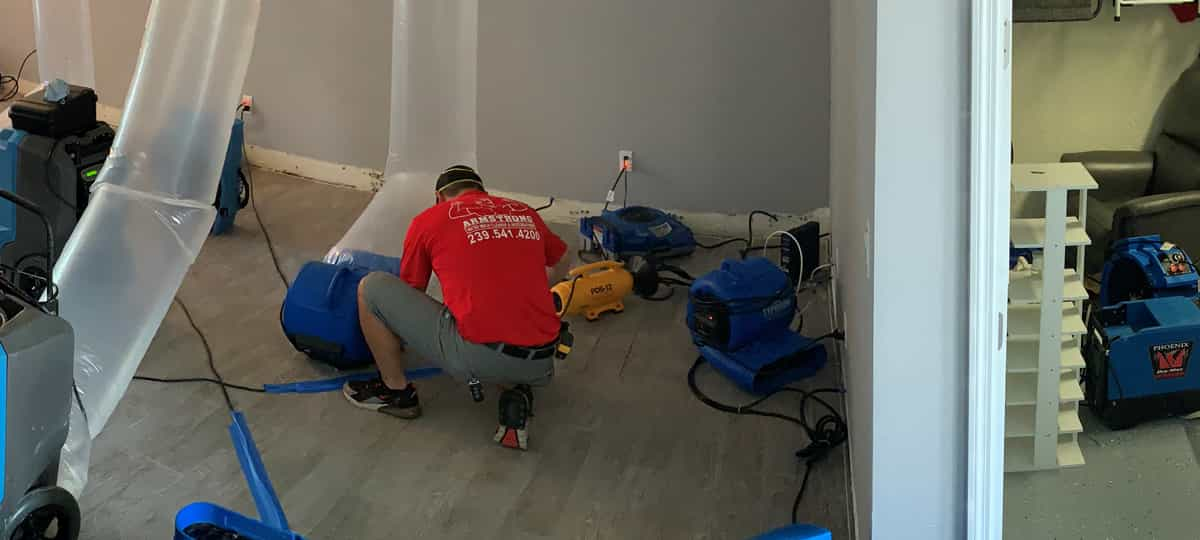 Water and Mold Cleanup Restoration in Southwest Florida