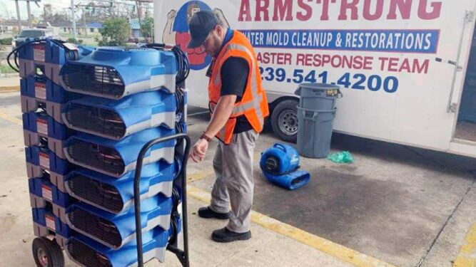 Commercial Cleanup and Restoration Service