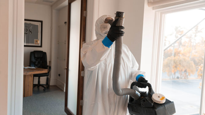 Covid-19 Disinfecting and Cleaning Services by Armstrong